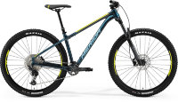 "Велосипед '21 Merida Big.Trail 500 Рама:XL(18"") Teal-Blue/Lime/Silver-Blue"
