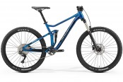 "Велосипед '19 Merida One-Twenty 7.400 Колесо:27.5"" Рама:M Blue/Black"